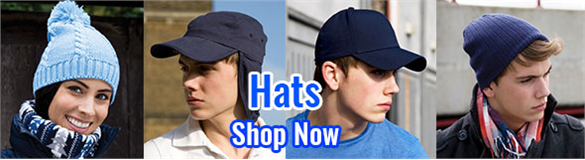 Hats, beanies & much more available to be branded with your logo.