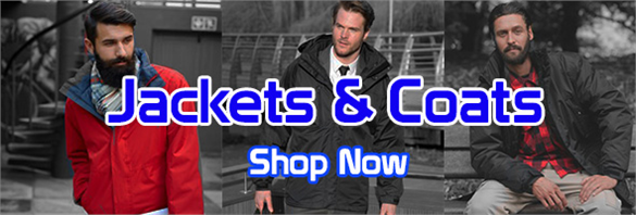 Great value printed & embroidered jackets in Kent