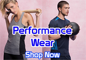Quality sportswear available printed or embroidered with your design.