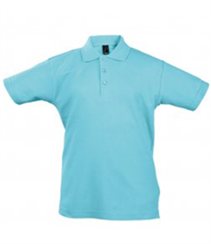SOL'S Kids Summer II Cotton Piqué Polo Shirt