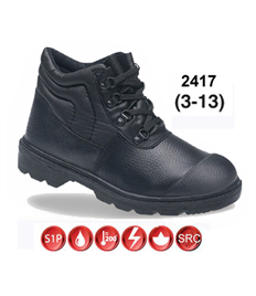 Briggs Footwear Black Dual Density PU Boot