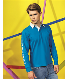 ASQUITH AND FOX MENS CLASSIC FIT L/S RUGBY