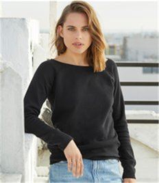 Bella Triblend Sponge Fleece Wideneck Sweatshirt