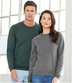 Canvas Unisex Sponge Fleece Triblend Sweatshirt