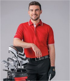 Glenmuir Tipped Piqué Polo Shirt