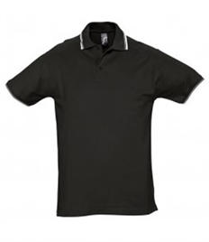 SOL'S Practice Tipped Cotton Piqué Polo Shirt