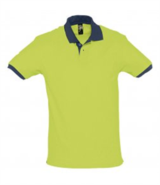 SOL'S Prince Contrast Cotton Piqué Polo Shirt