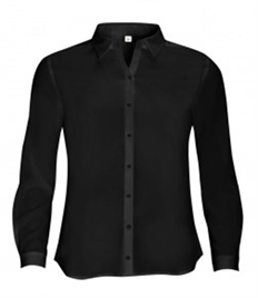 SOL'S Ladies Betty Long Sleeve Moss Crepe Shirt