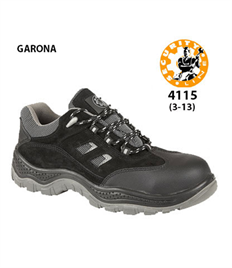 Briggs Footwear GARONA Black Safety Shoe