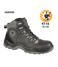 Briggs Footwear SANSON Blck Safety Boot