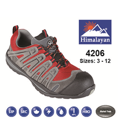 Briggs Footwear Halcon Grey/Red Composite Trainer