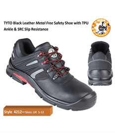 Briggs Footwear TYTO Black S3 Composite Shoe