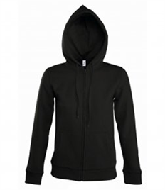SOL'S Ladies Seven Zip Hooded Sweatshirt