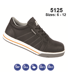 Briggs Footwear Black Iconic Safety Skater Shoe