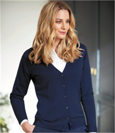 Brook Taverner Ladies Augusta V Neck Cardigan
