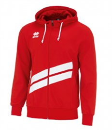 Errea Jill Zip Hooded Top