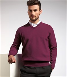 Glenmuir V Neck Lambswool Sweater