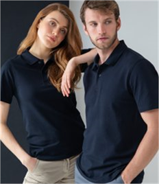 Henbury Unisex Stretch Cotton Piqué Polo Shirt