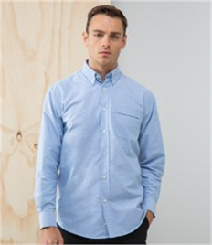 Henbury Long Sleeve Classic Oxford Shirt