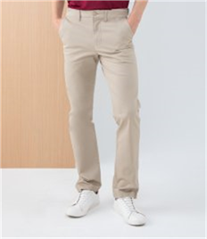 Henbury Stretch Flex Waistband Chino Trousers
