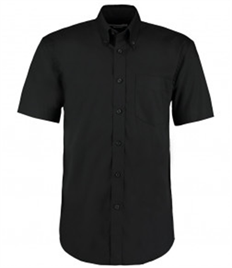 Kustom Kit Premium Short Sleeve Classic Fit Oxford Shirt