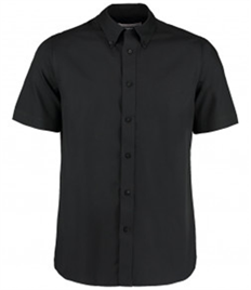 Kustom Kit Short Sleeve Tailored City Business Shirt
