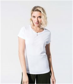 Kariban Ladies Organic Crew Neck T-Shirt