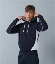 Finden and Hales Contrast Hooded Sweatshirt