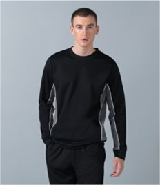 Finden and Hales Contrast Crew Neck Sweatshirt