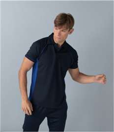 Finden and Hales Performance Piped Polo Shirt