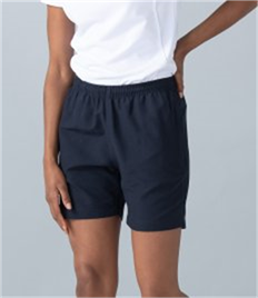 Finden and Hales Ladies Microfibre Shorts