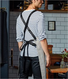 Premier Interchangeable Cross Back Apron Straps