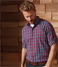 Premier Sidehill Check Long Sleeve Shirt