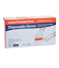 Portwest Latex Disp Gloves (Pk100)
