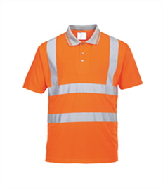 Portwest Hi-Vis S/S Polo Shirt