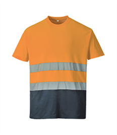 Portwest 2-Tone Cotton Comfort T-Shirt