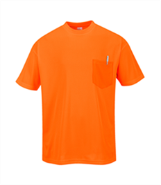 Portwest Short Sleeve Pocket T-Shirt