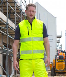 Result Safe-Guard Reversible Soft Gilet