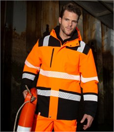 Result Safe-Guard Printable Waterproof Safety Soft Shell Jacket