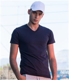 SF Men Feel Good V Neck Stretch T-Shirt
