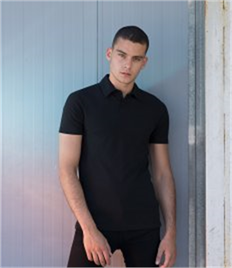 SF Men Stretch Piqué Polo Shirt