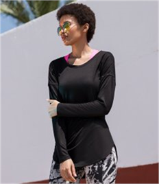 SF Ladies Long Sleeve Slounge Top