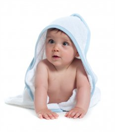 Towel City Babies Hooded Towel