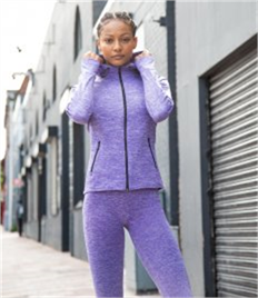 Tombo Ladies Lightweight Running Hoodie