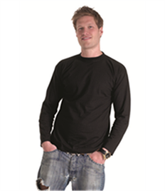 Uneek Mens Long Sleeve T-shirt