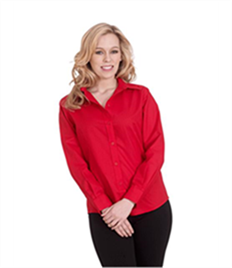 Uneek Ladies Poplin Full Sleeve Shirt