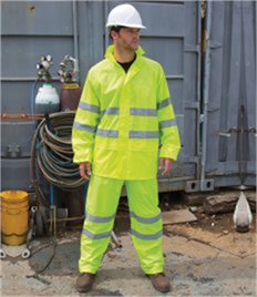 Result Safe-Guard Hi-Vis Waterproof Suit