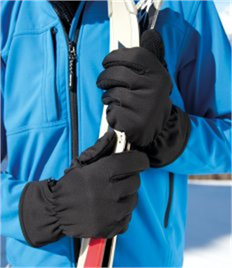 Result Soft Shell Thermal Gloves