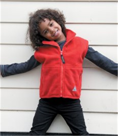 Result Kids/Youths Polartherm™ Fleece Bodywarmer