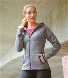 Spiro Ladies Micro Fleece Hoodie